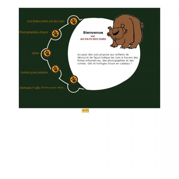 Logo Au pays des ours