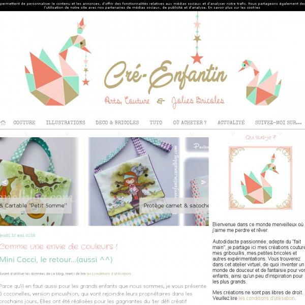 Logo blog Cré-Enfantin
