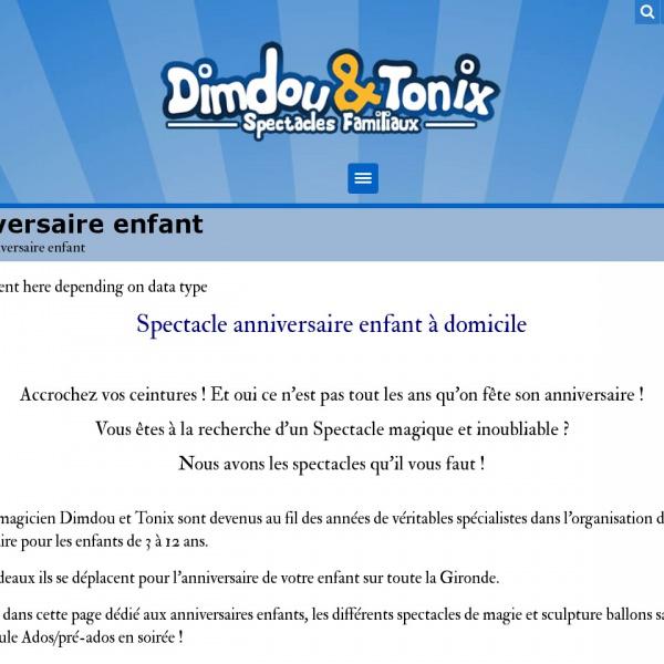 Logo Dimdou et Tonix