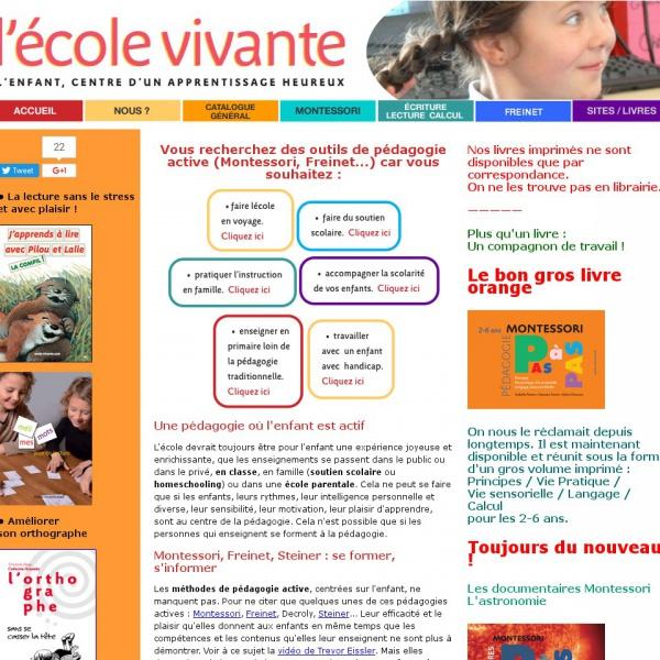 Logo École Vivante