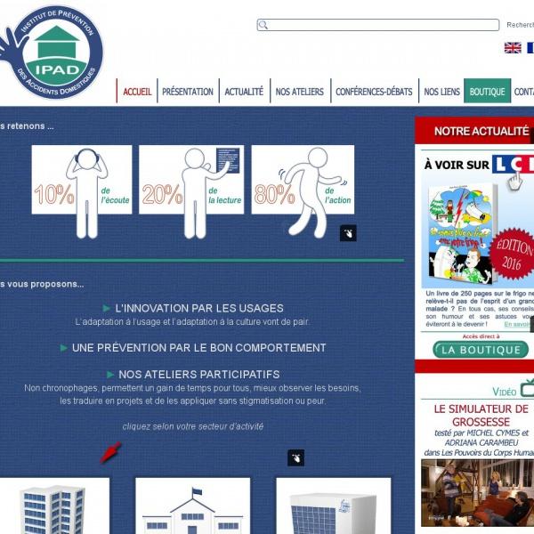 Logo Institut de prévention des accidents domestiques