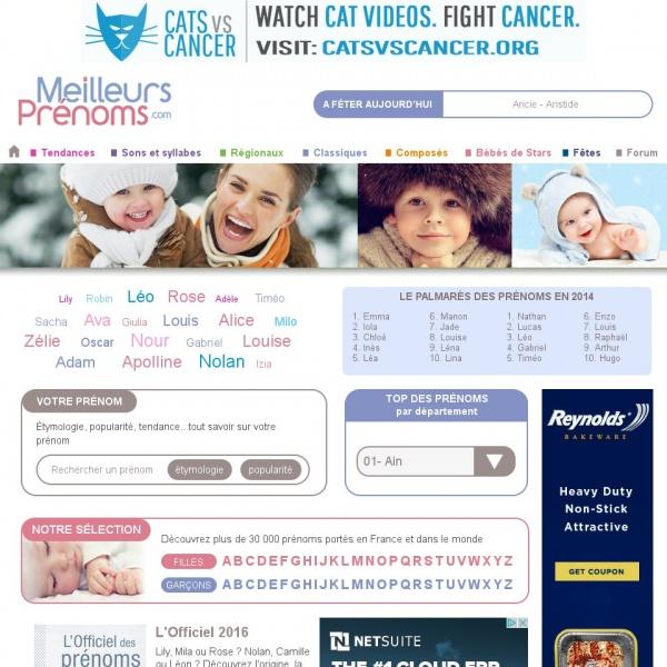 Logo MeilleursPrénoms.com