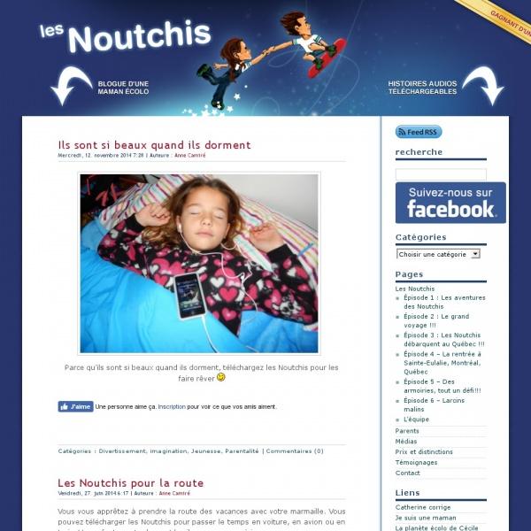 Logo Les aventures des Noutchis