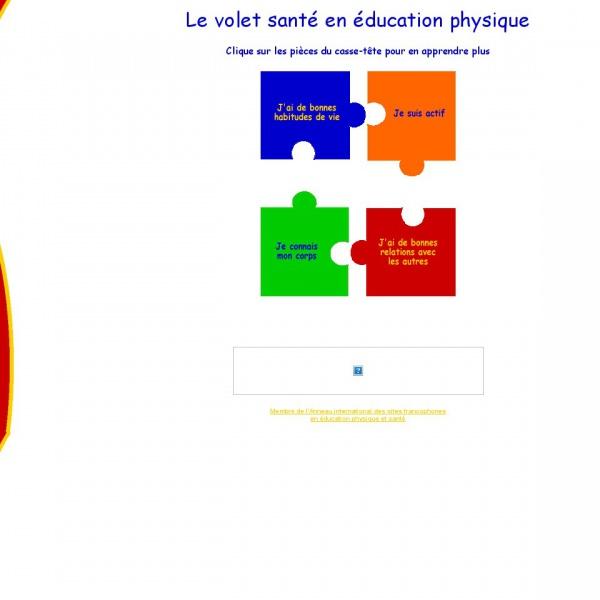Logo L'activité physique et la santé