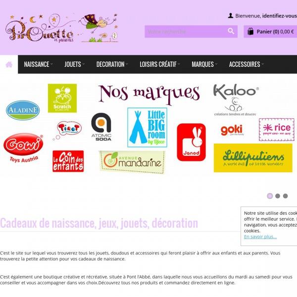 Logo Pirouette et patatras