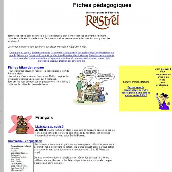 Logo École de Rustrel