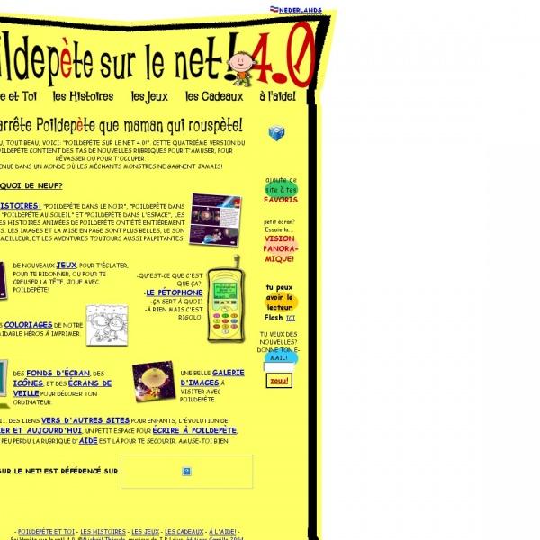 Logo Poildepète sur le net !