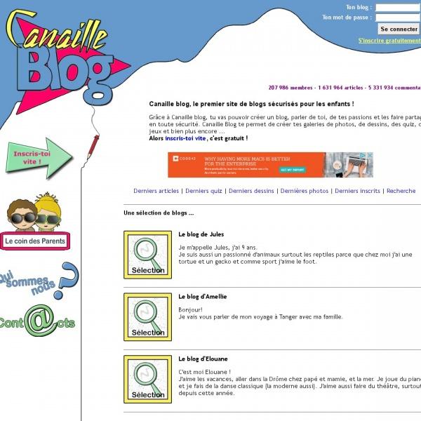 Logo Canaille Blog
