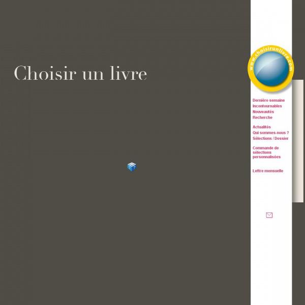 Logo Choisir un Livre