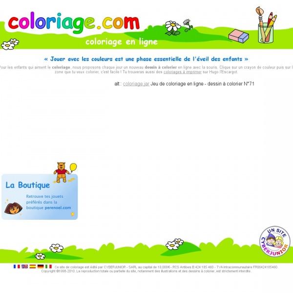 Logo Coloriage.com, le site de coloriage des enfants