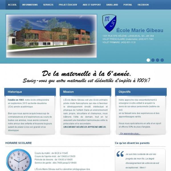 Logo École Marie Gibeau