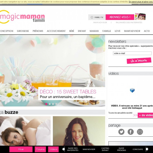 Logo Magazine famili