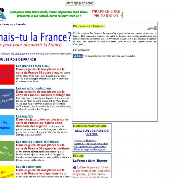 Logo Connais-tu la France ?