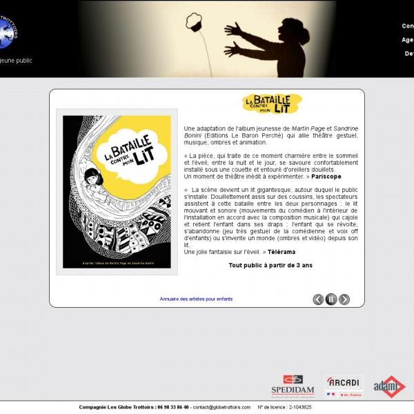 Logo Les Globe Trottoirs : Spectacles pour enfants