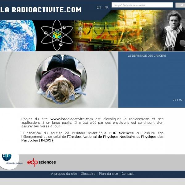 Logo La radioactivité