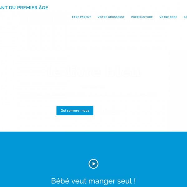 Logo Le livre bleu, l'enfant du premier âge