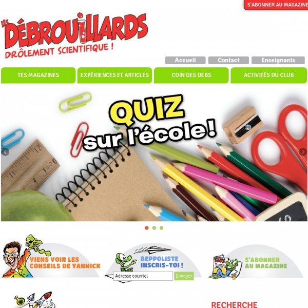 Logo Les Débrouillards