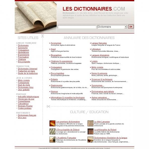 Logo Les Dictionnaires
