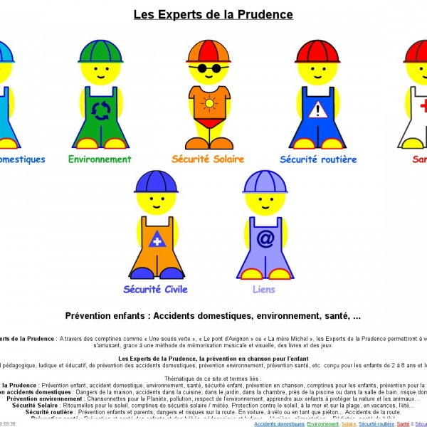 Logo Les experts de la prudence