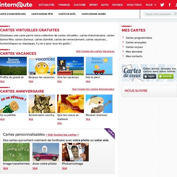 Logo Cartes de voeux de L'Internaute