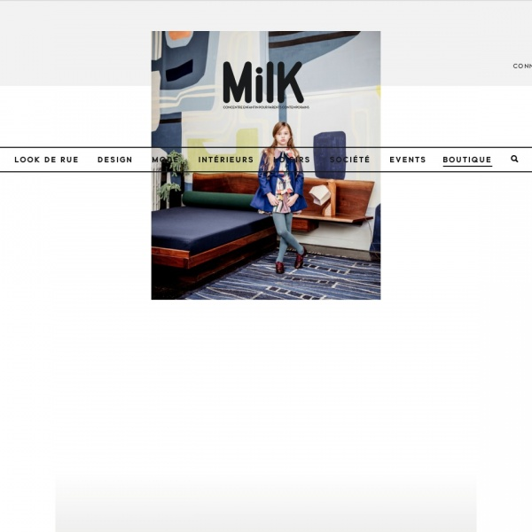 Logo MilK Magazine