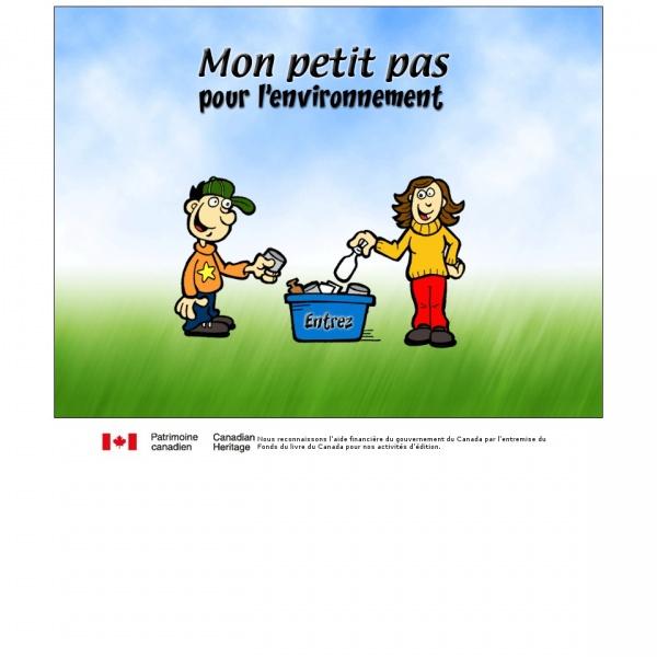 Logo Mon petit pas pour l'environnement