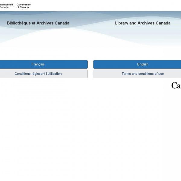 Logo Bibliothèque Nationale du Canada