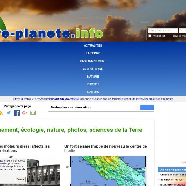 Logo Notre planète.info