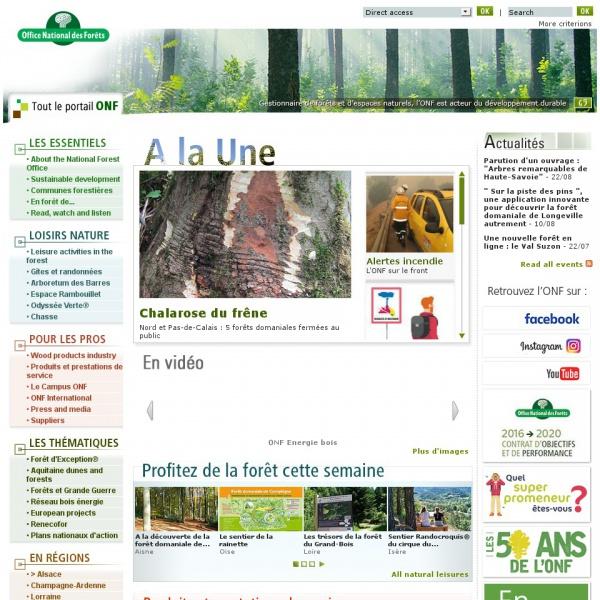 Logo Office Nationnal des Forêts (ONF)