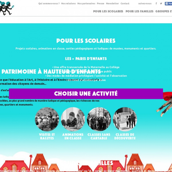 Logo Association Paris d'enfants