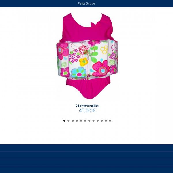 Logo Maillot de bain, bouée et accessoires bébés nageurs