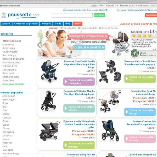 Logo Poussette.com