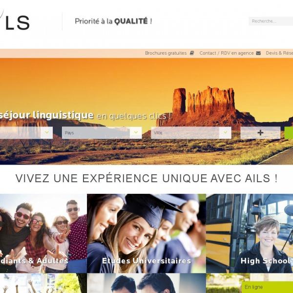 Logo Vacances actives et linguistiques