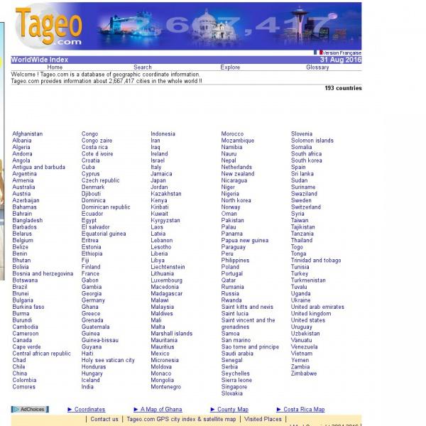Logo Tageo.com