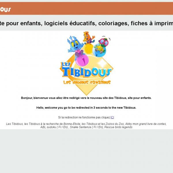 Logo Les Tibidous – Éveil 2-4 ans
