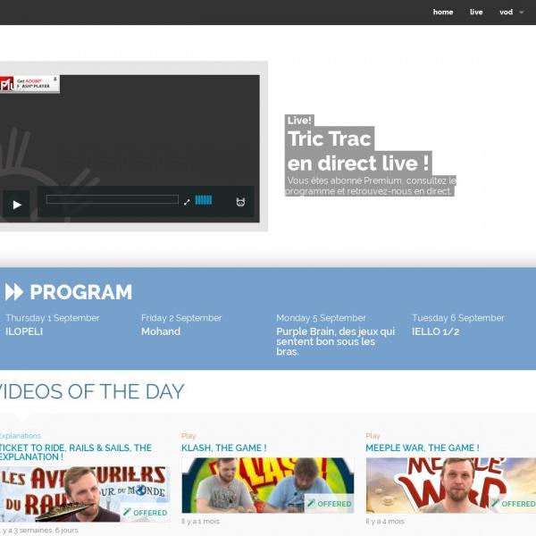 Logo Tric Trac TV