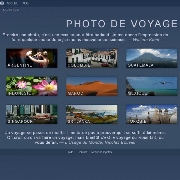 Logo Album photos de voyage