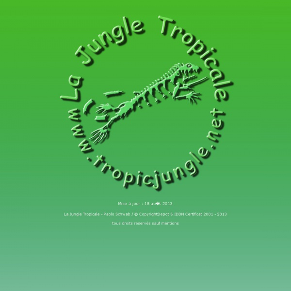 Logo La jungle tropicale