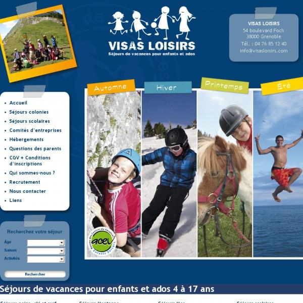 Logo Visas Loisirs