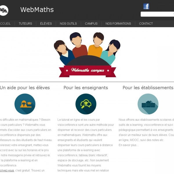 Logo Web Maths
